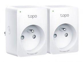 Tapo P100 - Inteligentní zásuvka - bezdrátový - 802.11b/g/n, Bluetooth 4.2 - 2.4 Ghz (balení 2)