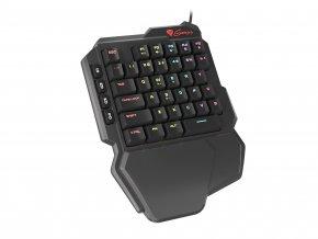 Mechanická klávesnice Genesis Thor 100 RGB, software