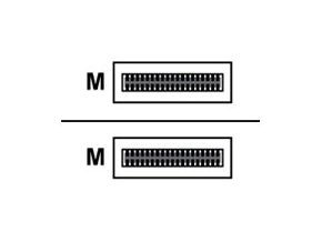 Mellanox - Kabel InfiniBand - QSFP do QSFP - 3 m