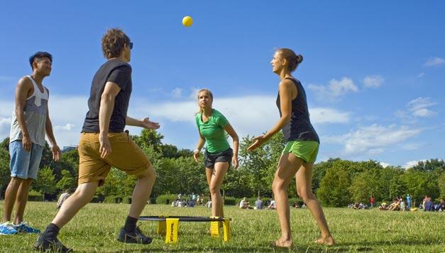 spikeball netradiční sporty