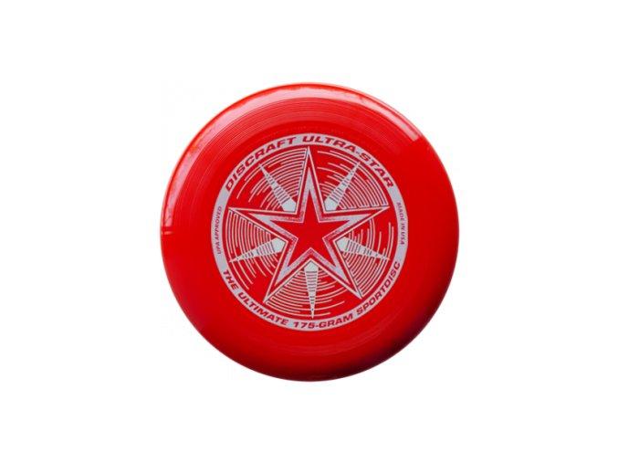 Frisbee ULTRA STAR - červený