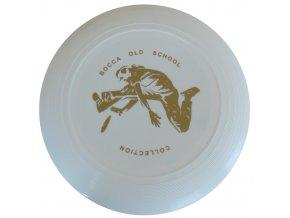 Frisbee old school bílé
