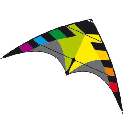 Akrobatický řiditelný drak Spider black rainbow
