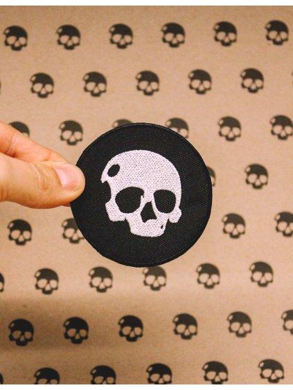 1242 1 skull patch