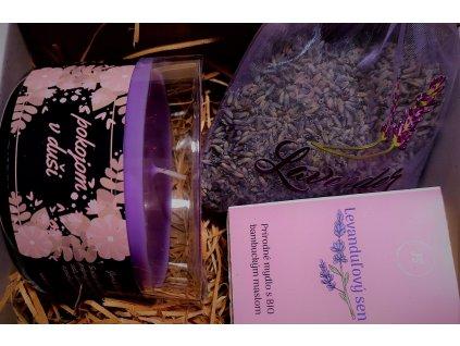 Kniha Cesta poznania + levanduľový balíček