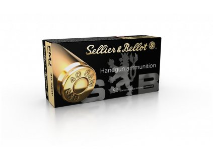 S&B 40 S&W FMJ 11,7g