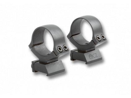 Dvoudílná montáž pro CZ kulovnice 30mm