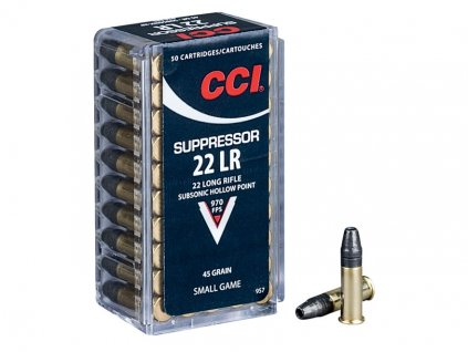 CCI 22LR Suppressor Subsonic HP