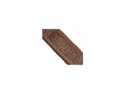 15272 exkluzivni kozeny remen na zbran 5 cm divocak