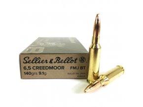 S&B 6,5 Creedmoor FMJ BT 9,1g
