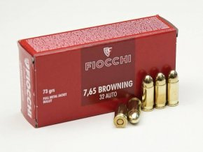 Fiocchi 7,65mm Brownng FMJ