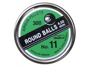 Broky Round Balls č.11 4,5mm