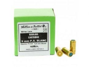 38847 2 plynove naboje 9mm pistole p a blanc startovaci sellier a bellot