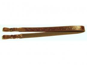 Řemen na zbraň podšitý protiskluzovou gumou 2,5 cm