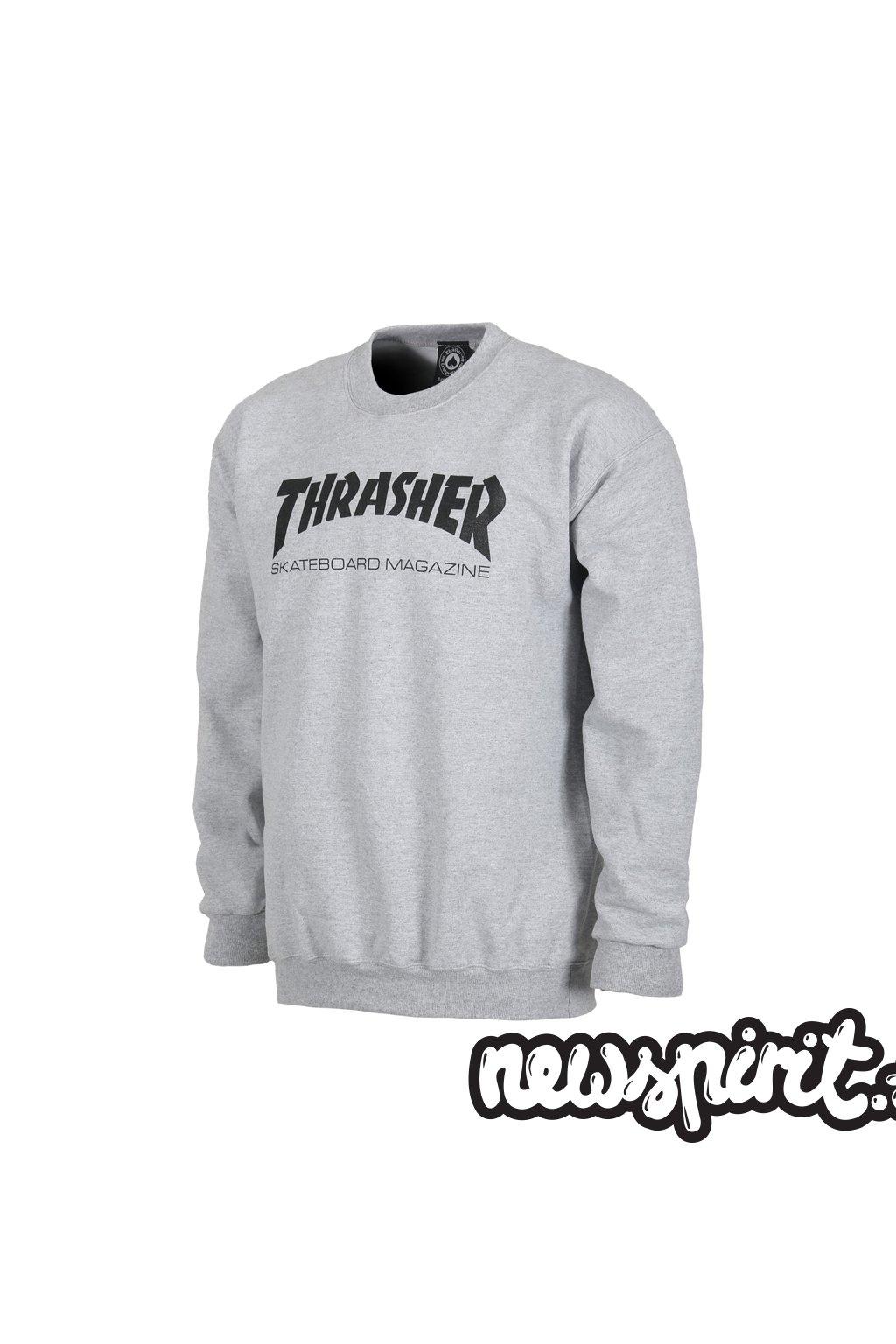 Mikina Thrasher Skate Mag Crewneck