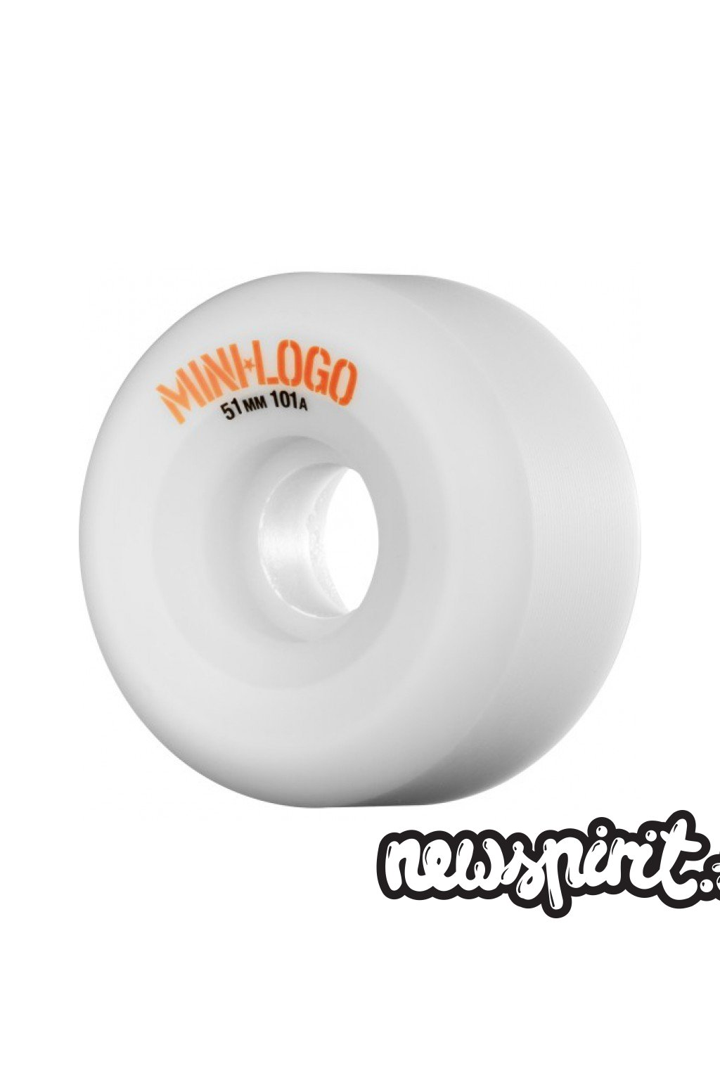 Kolesá Mini Logo A-cut 101a White