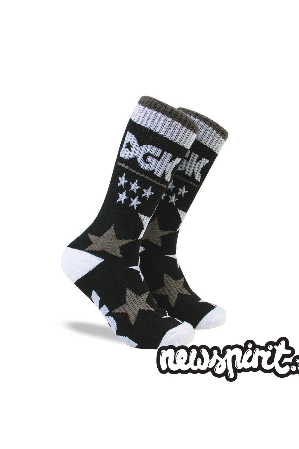 Ponožky DGK - St. Marks Black