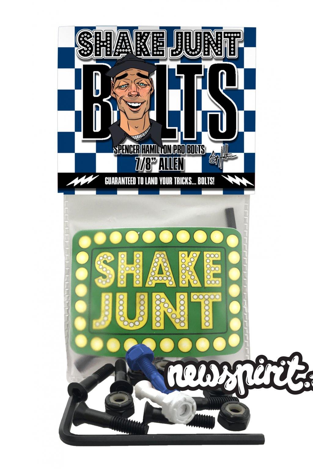 shake junt spencer bolts single pack mock