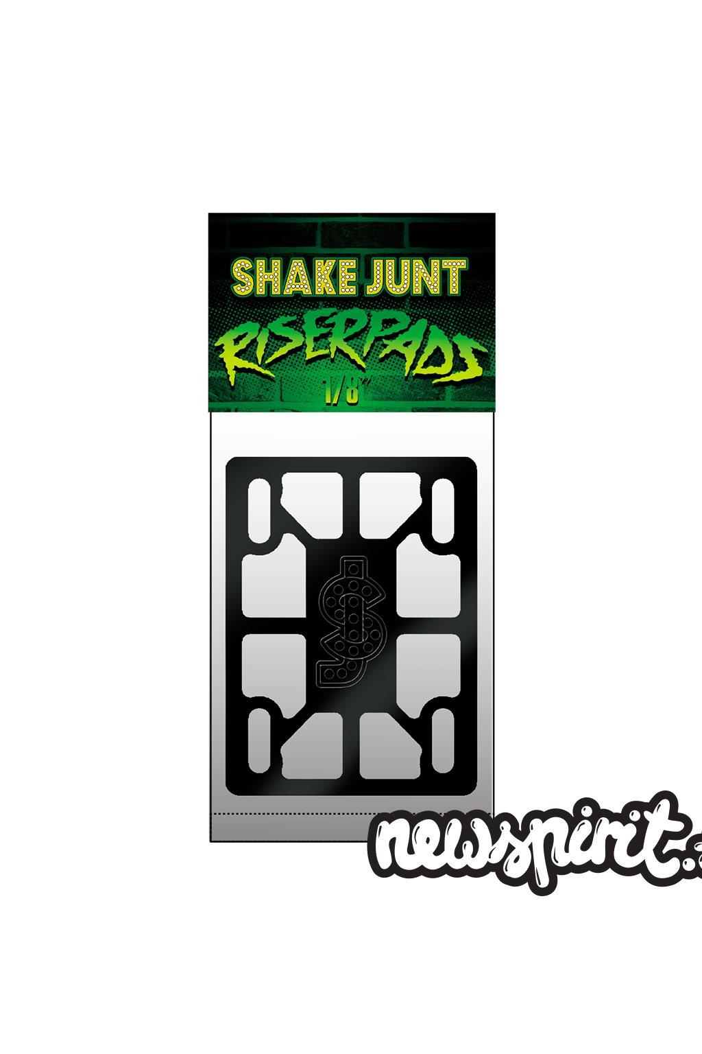 shake junt riser pads mock