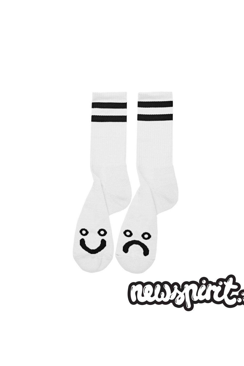 eng pl Polar Happy Sad socks white 18570 1