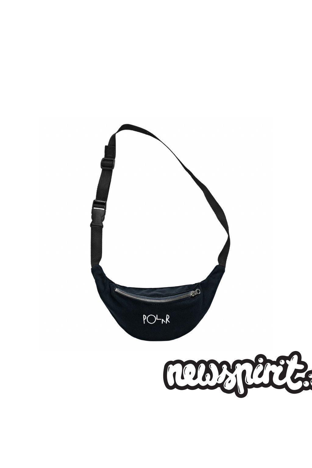 3111 3 script logo hip bag black