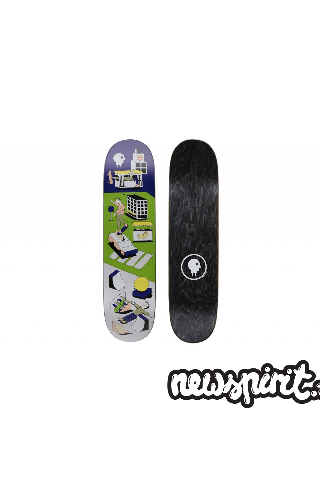 skateboard charge car mh deep concave