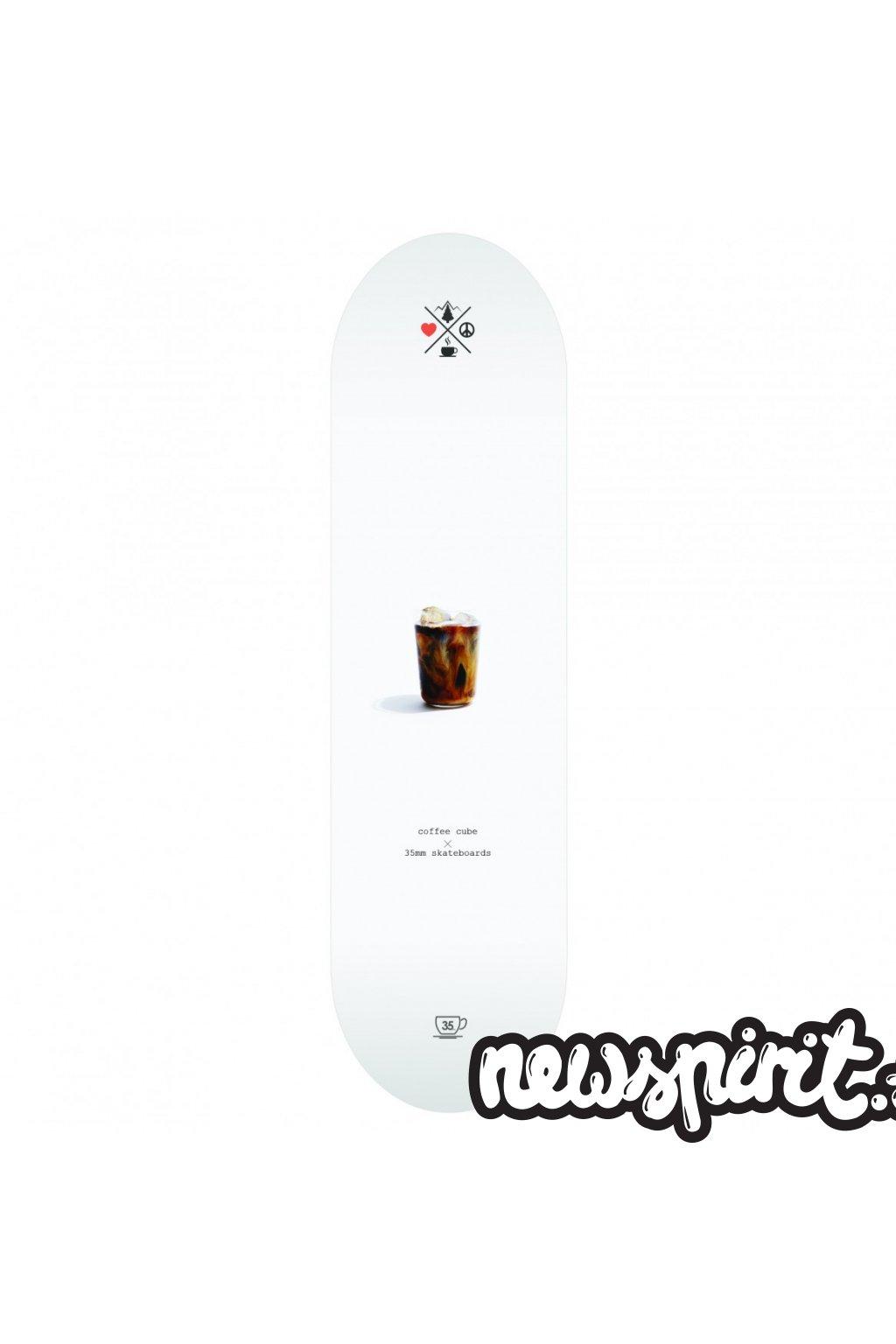 cube skateboard deck 35mm