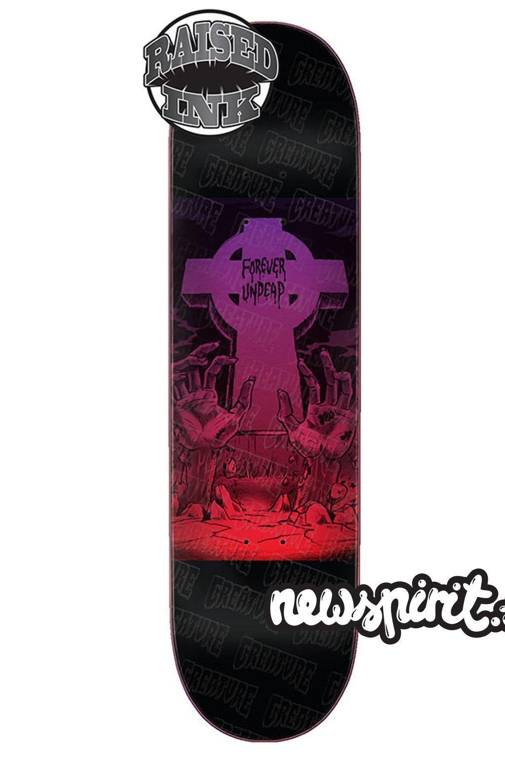 creature forever undead skateboard deck 18
