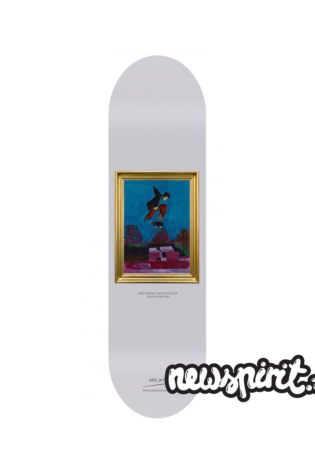 skateboard 35mm Beda SS Flip 1