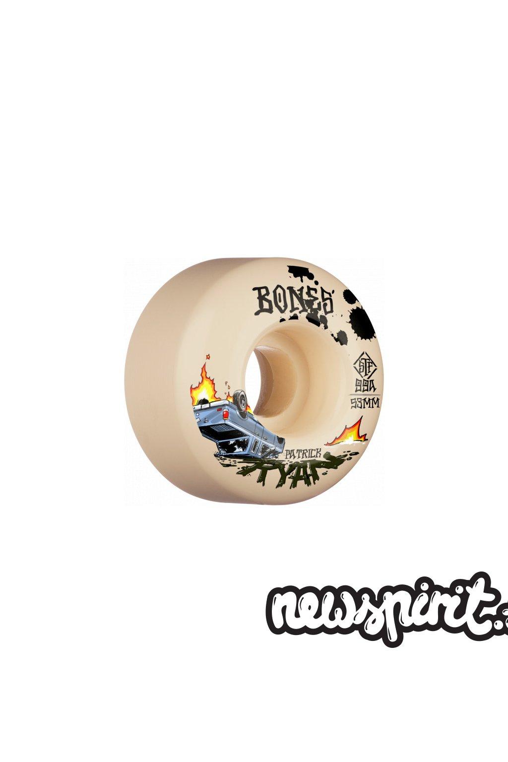 skate kolieska BONES Wheels STF PRO Ryan Crash Burn 53mm 99A V4