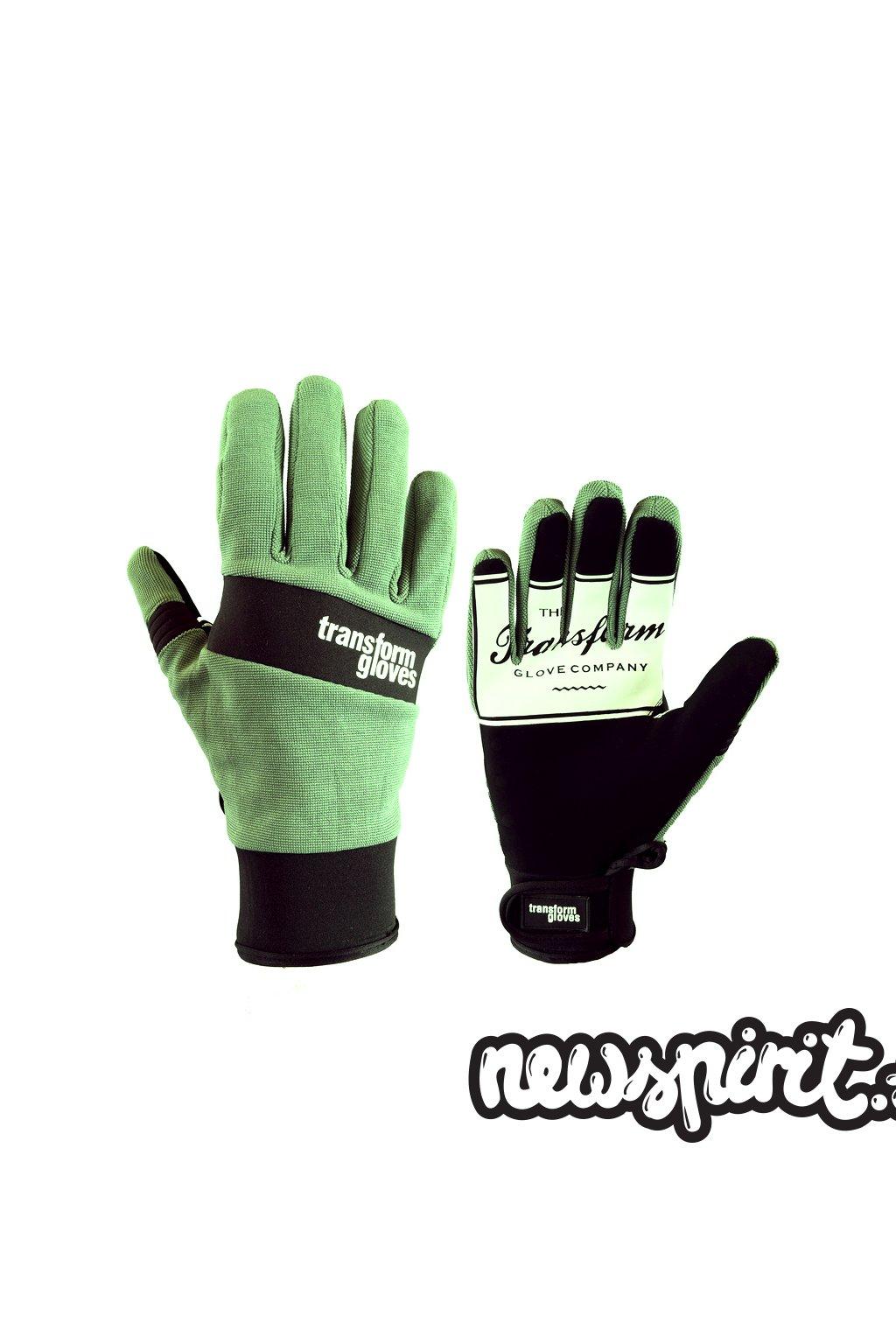 Transform gloves The Watson Green