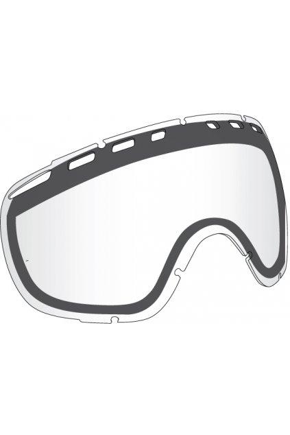Náhradné sklo Dragon D2 - clear