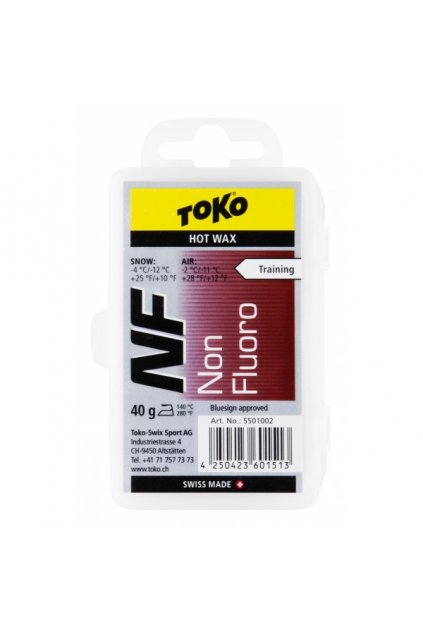 Toko NF Hot Wax red 40g