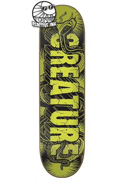 Skateboard Creature - Giant Serpents UV MD