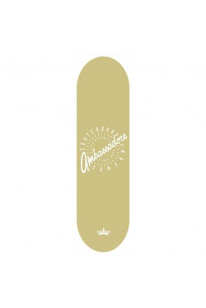 ambassadors skateboard gold 1000x1000