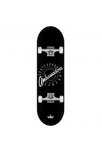 skateboard komplet ambassadors black AMB 1000x1000