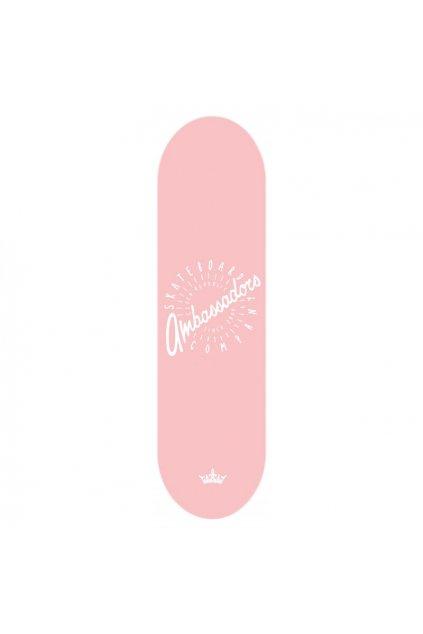 Skateboard Ambassadors SPIN Pink