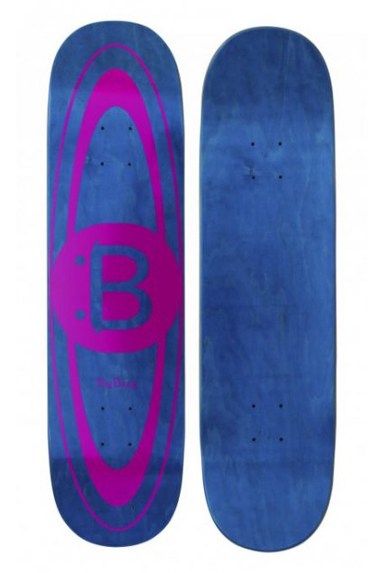 Skateboard doska bigbang logodeck pink 1