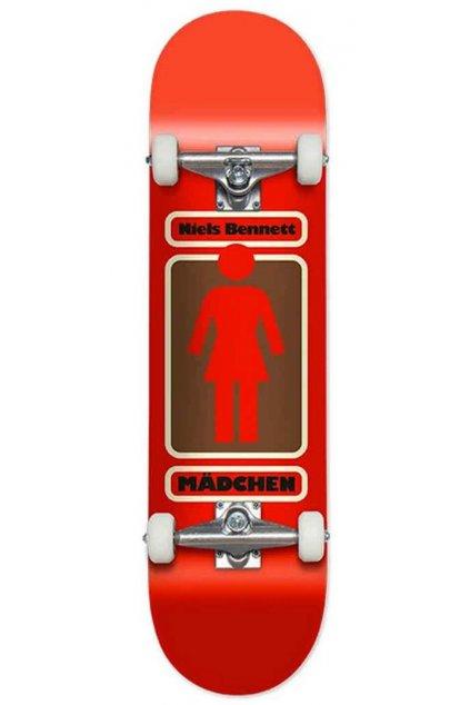 Skateboard Girl Bennett girlcomplete93tilbennettred 1200x1200