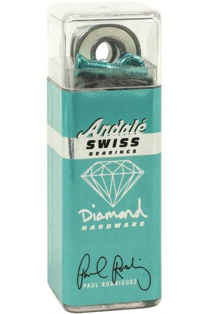 Diamond p. rod swiss bearings