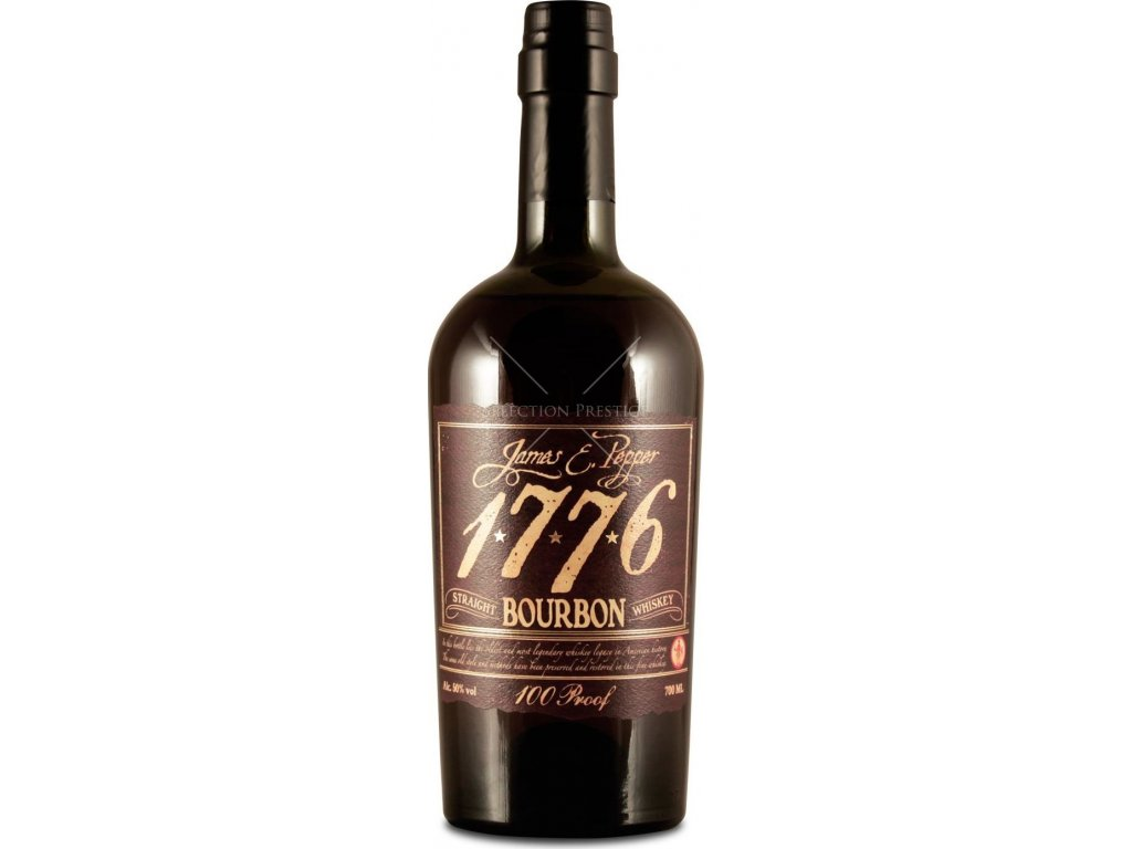 James E. Pepper 1776 Straight Bourbon 46%