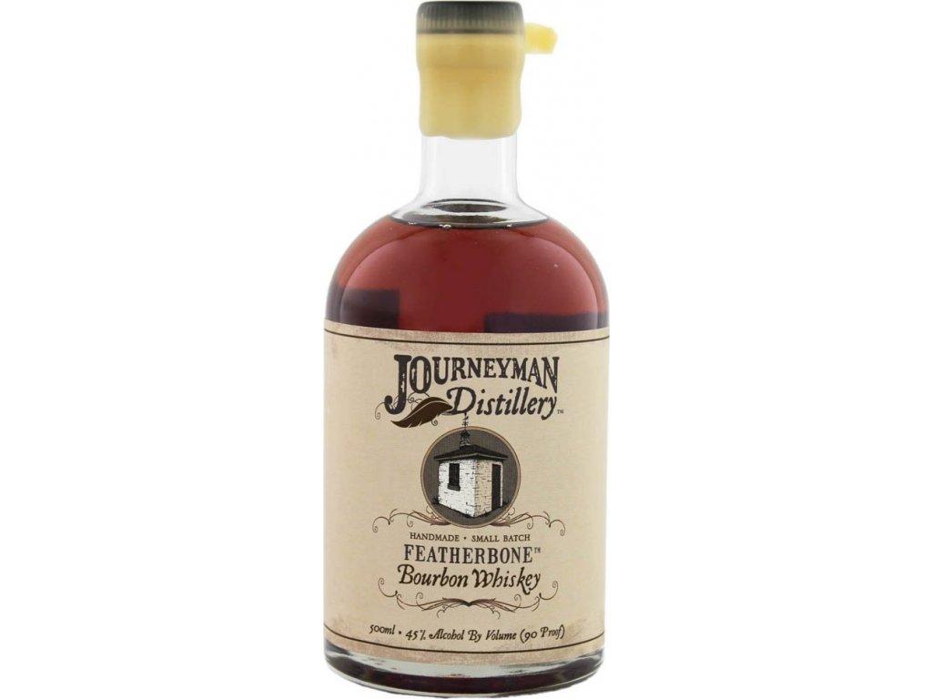 Journeyman Featherbone Bourbon Whiskey 45%, whisky 0,5L