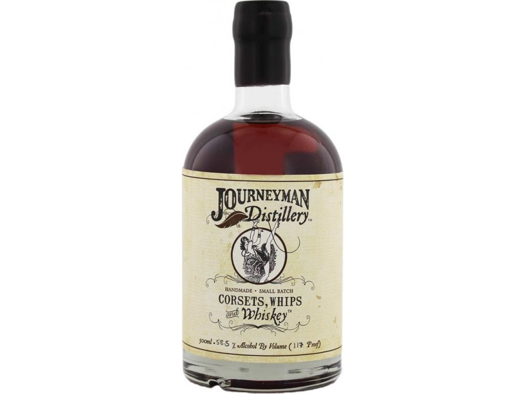 Journeyman Corsets, Whips & Whiskey 58,5%, whisky 0,5L