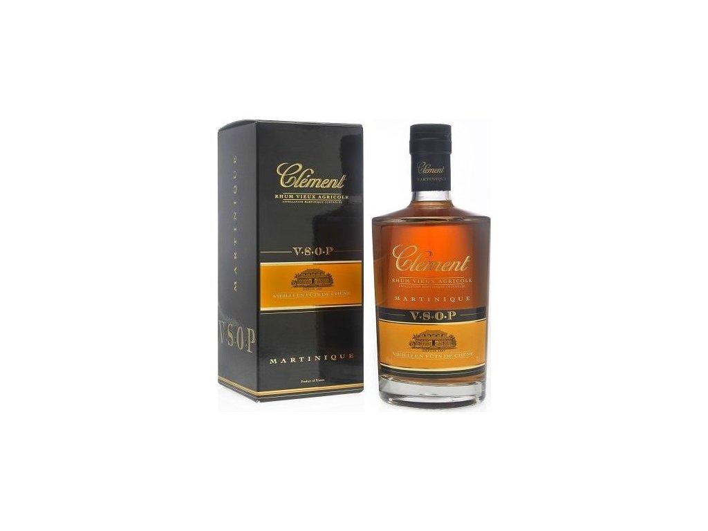 Clément V.S.O.P 40%, rum, darčekové balenie 0,7L
