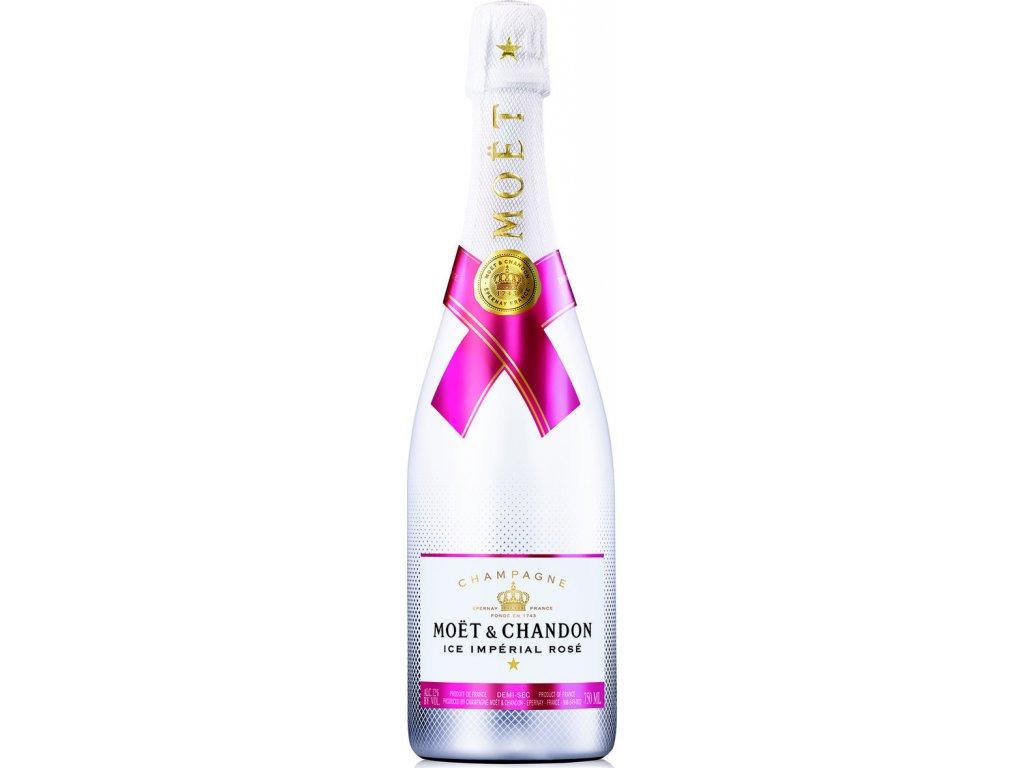 Moët & Chandon Ice Rosé Impérial, AOC, Champagne, šampanské, ružové, demi sec 0,75L