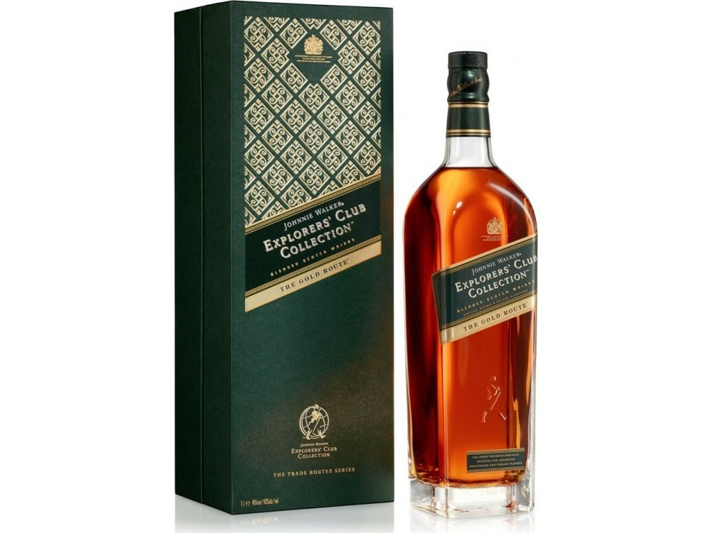 Johnnie Walker Explorer's Club Collection The Gold Route