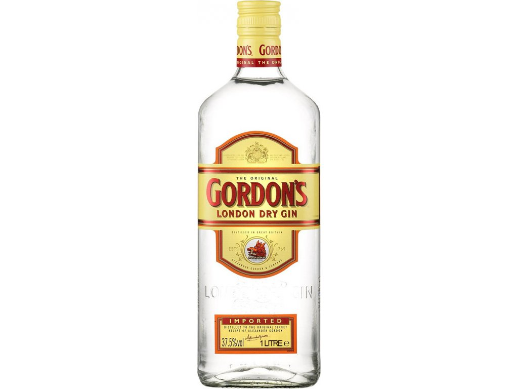 Gordon´s London Dry Gin 37,5% 1,0L