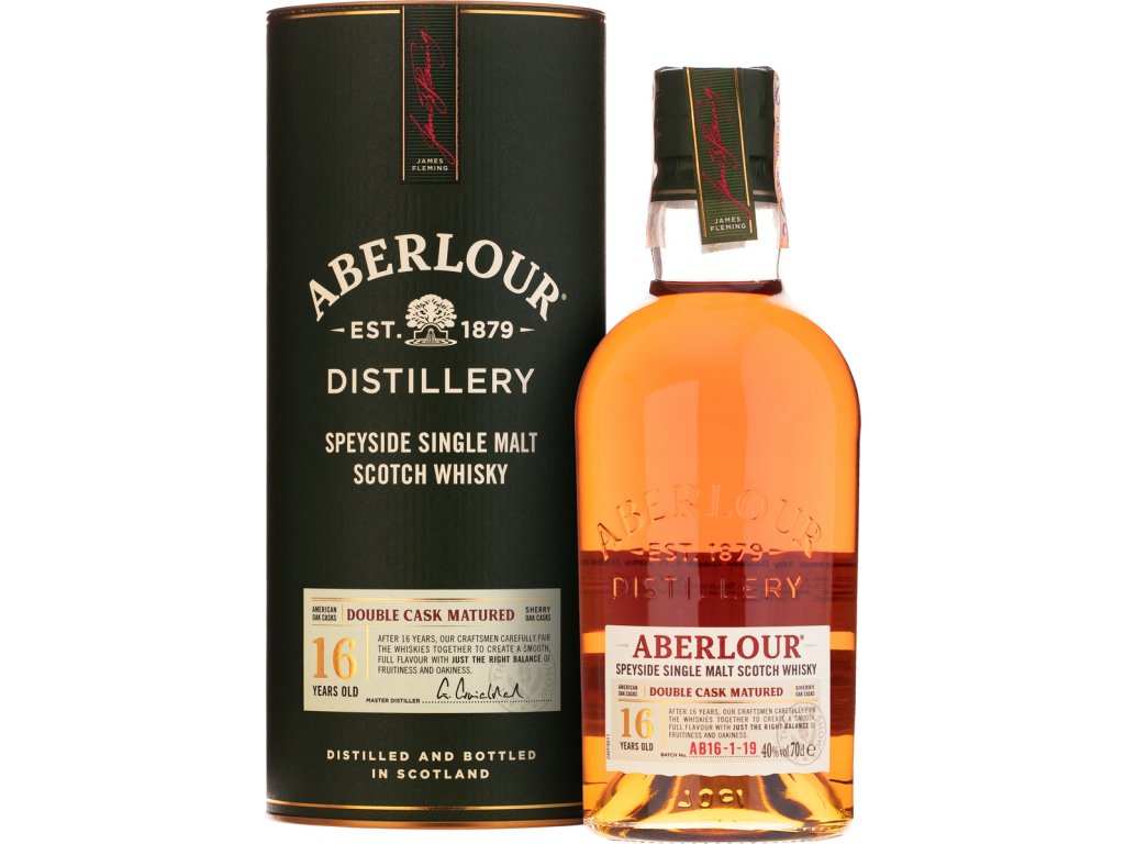 Aberlour 16 Y.O. Double Cask Matured