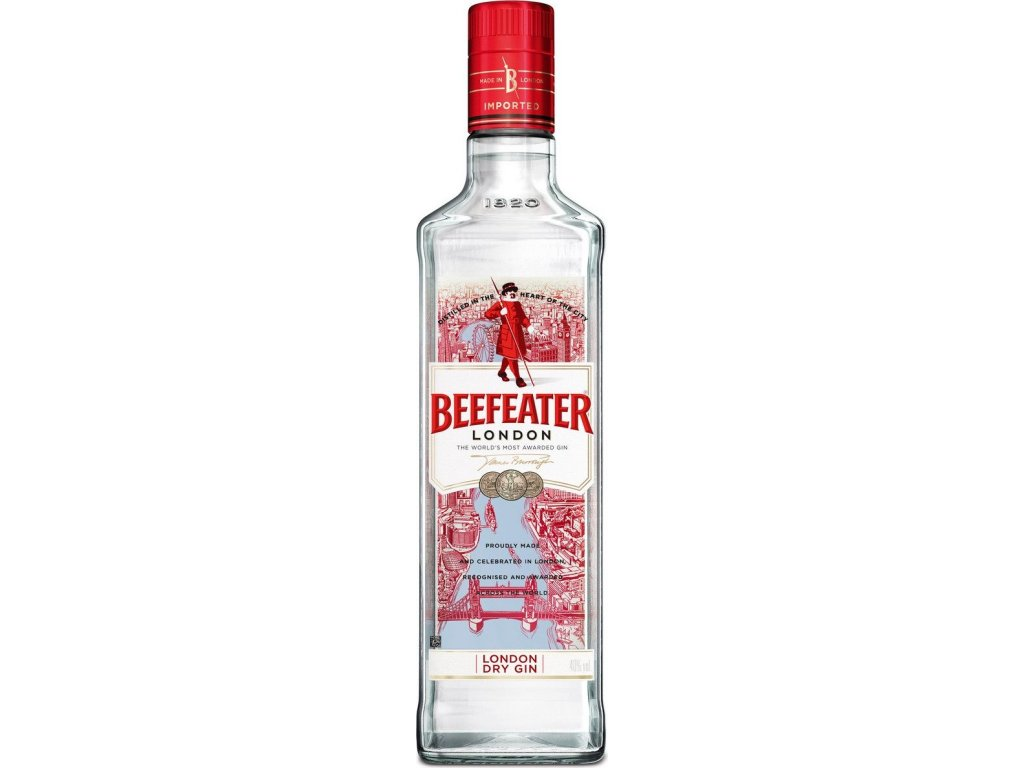 Beefeater London dry gin 40%, gin 1L
