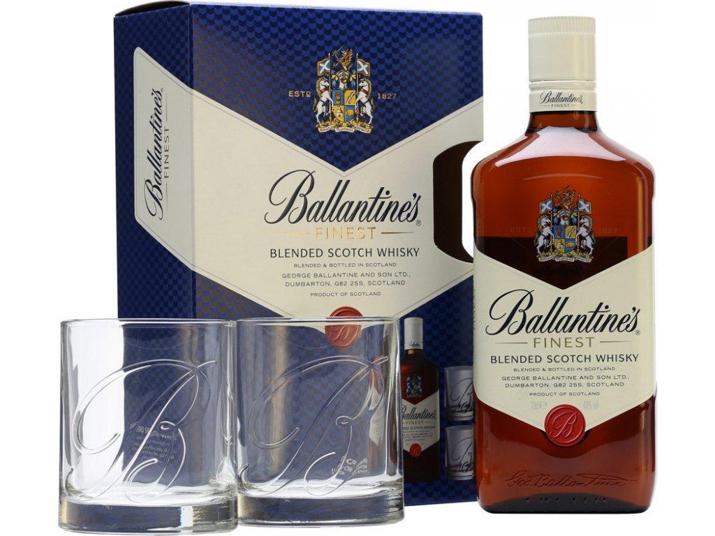 Ballantine's s 2 pohármi